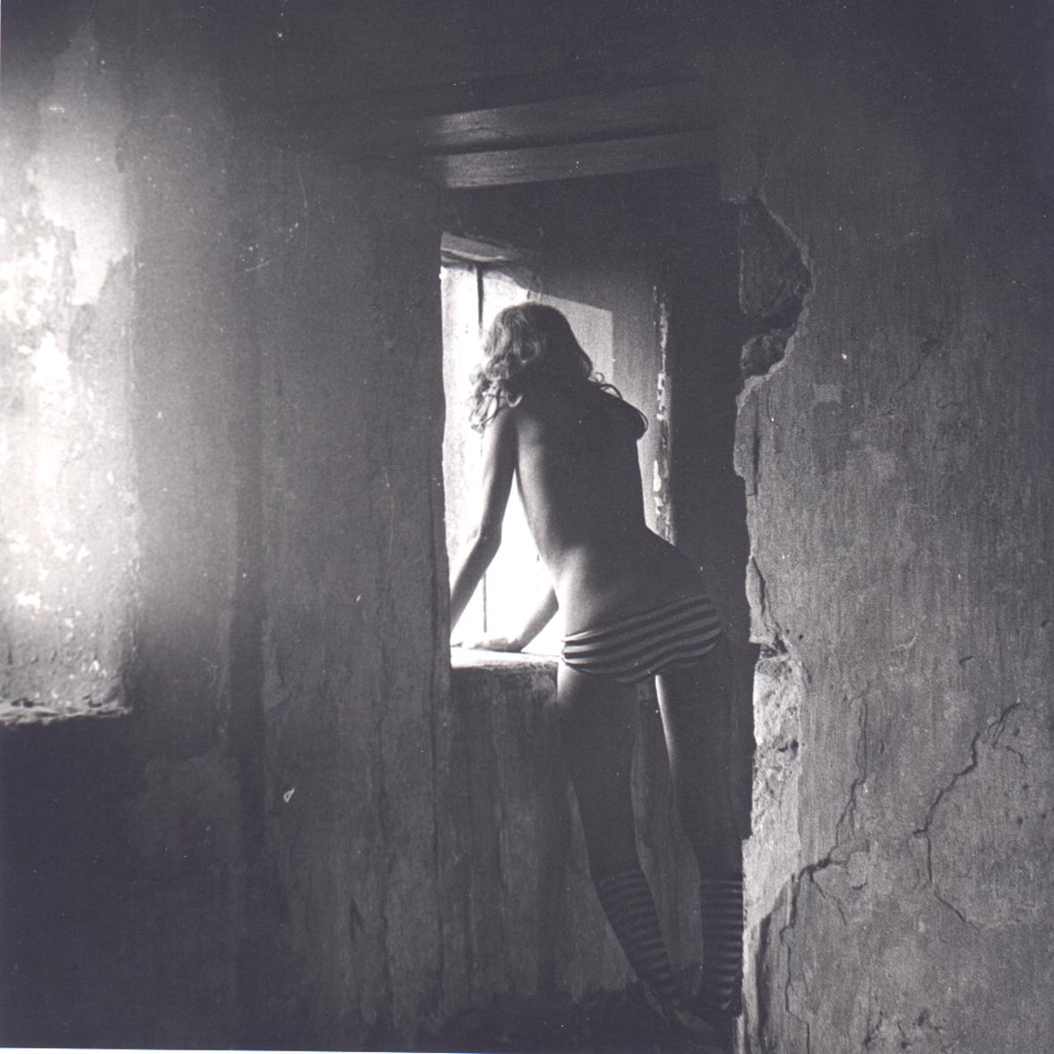 Girl in ruin