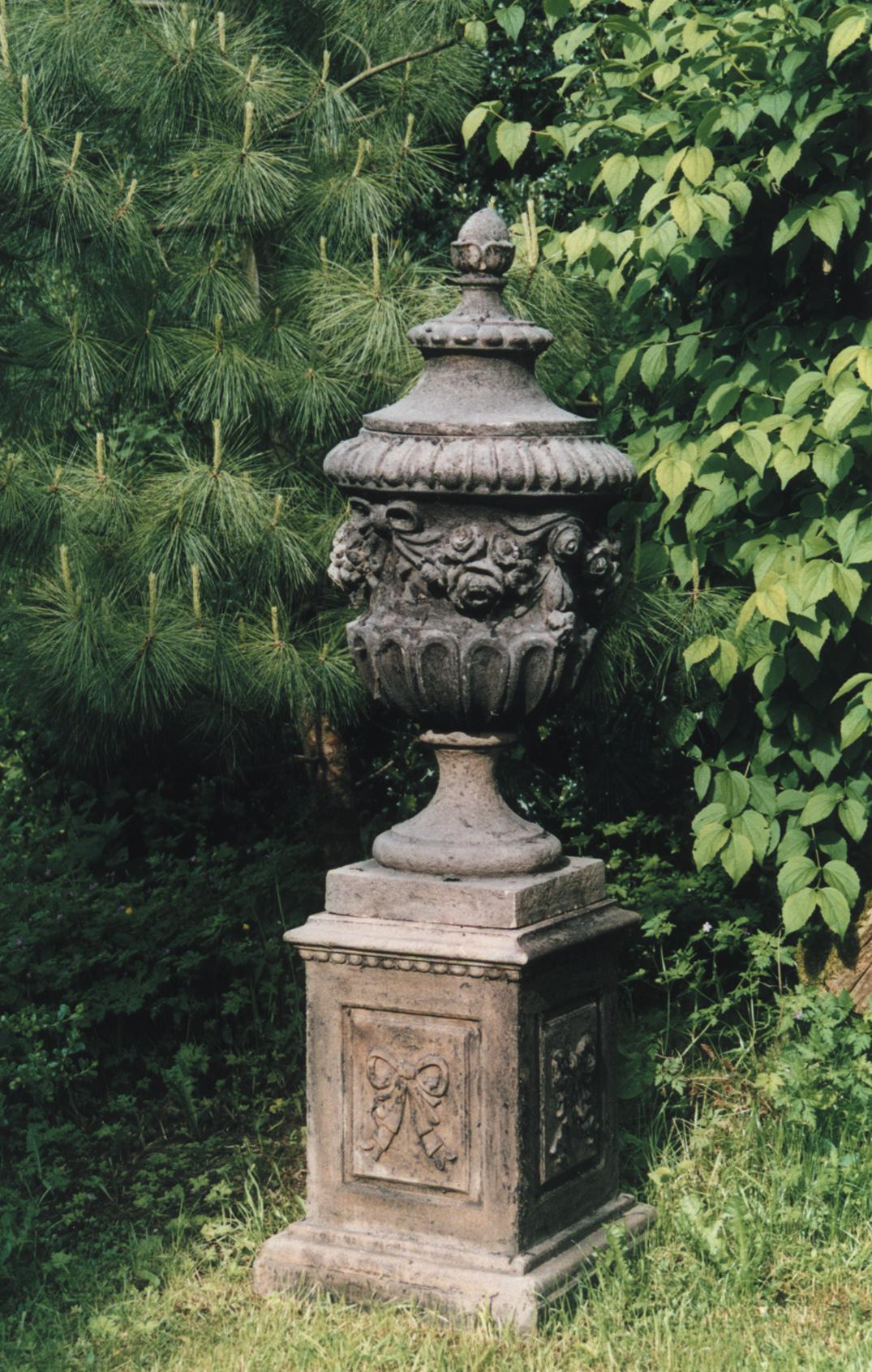 Repro antique urn